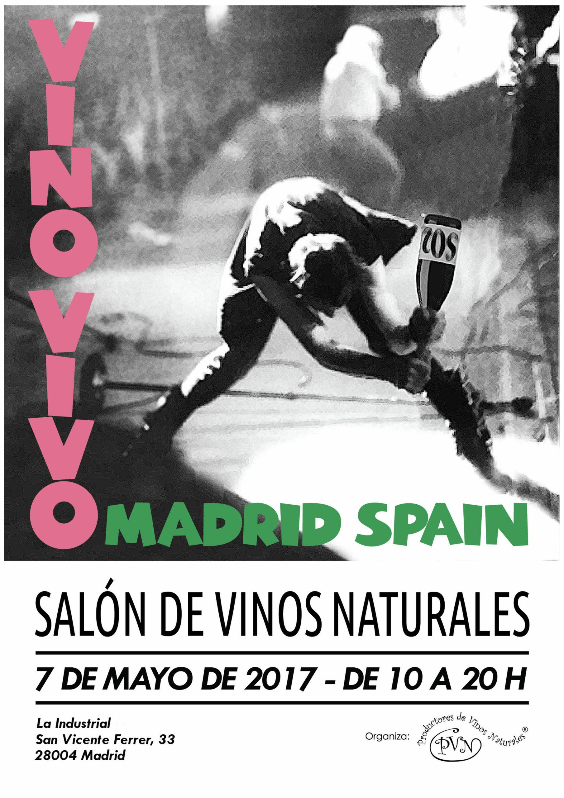 Vino Vivo 2017, el Salón de Vinos Naturales de Madrid