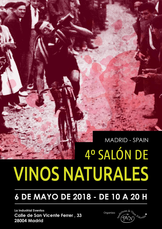 4º Salón de Vinos Naturales Madrid 2018